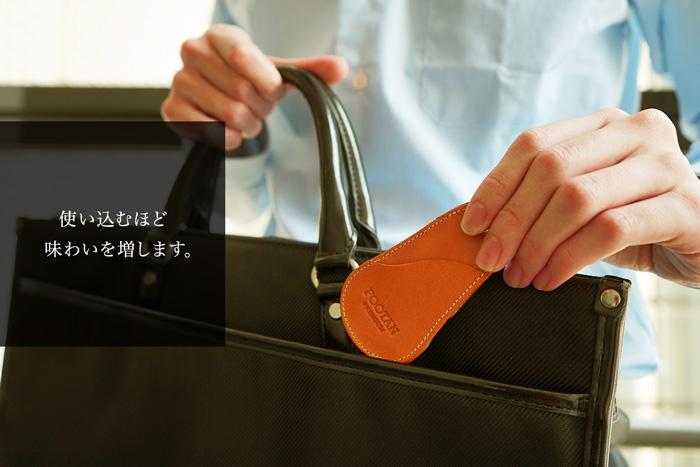 栃木レザーを使用していて、使う込むほどに味わいを増します。